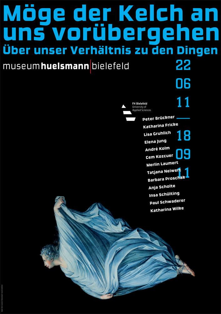 Möge der Kelch... Plakat, Huelsmann Museum, © 2011