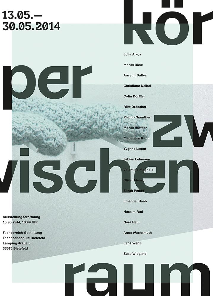 Plakat - KörperZwischenRaum
