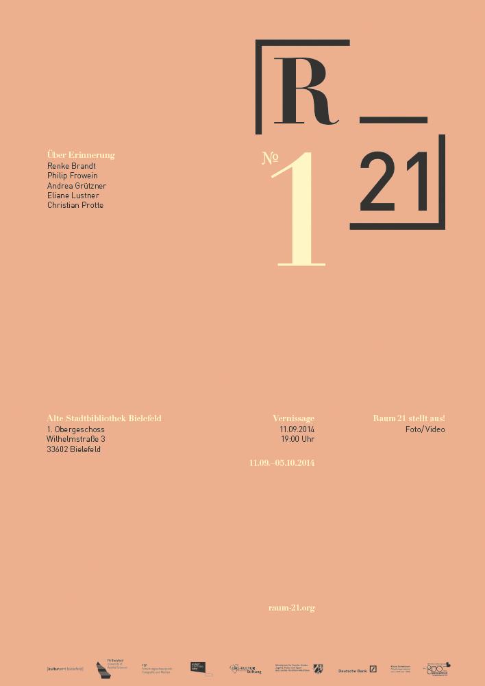 Raum21 Ausstellung 1, © 2014