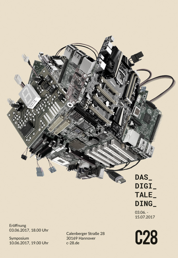 DAS DIGITALE DING Flyer