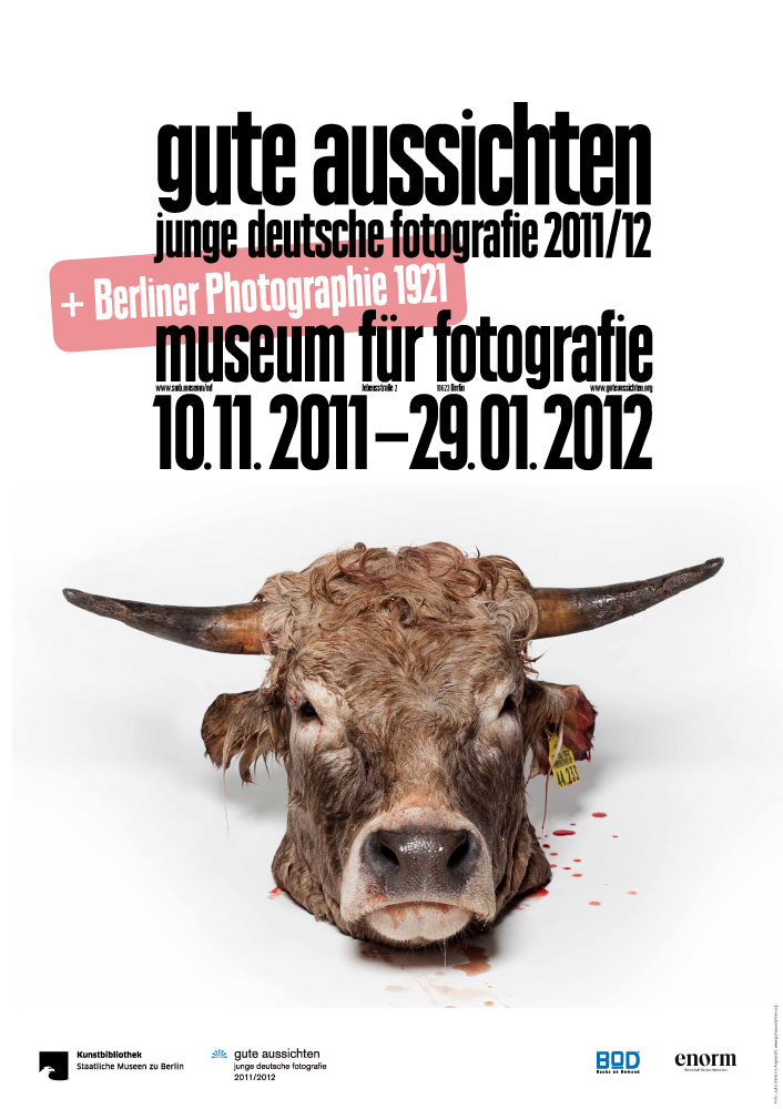 Ausstellungsplakat, © 2011 Julia Unkel / gute aussichten