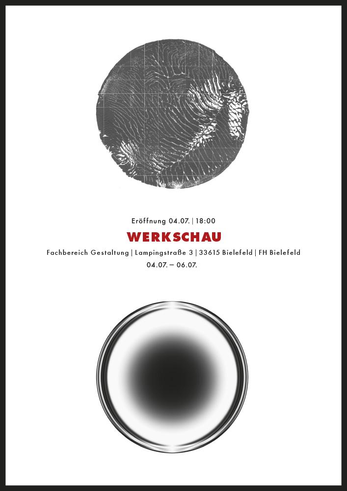 Ausstellungsplakat »Werkschau«, © 2014